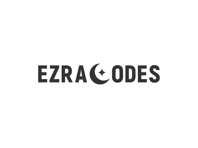 EZRACODES logo design
