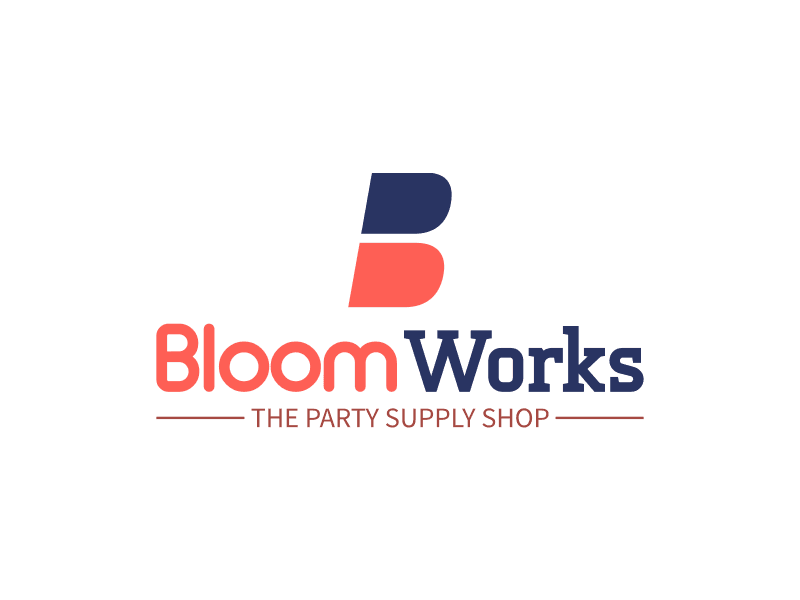 Bloom Works - THE PARTY SUPPLY SHOP