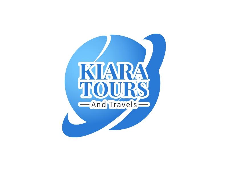 Kiara Tours logo design