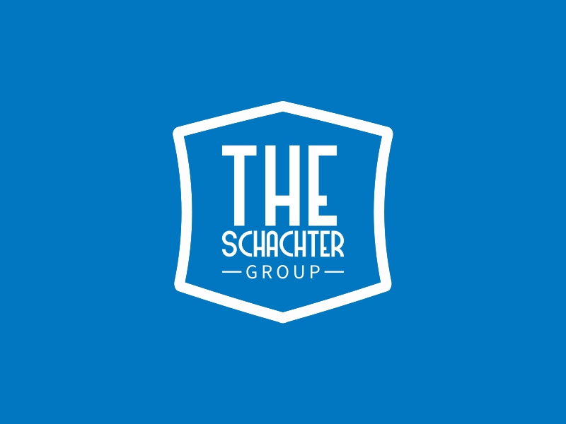 THE SCHACHTER logo design