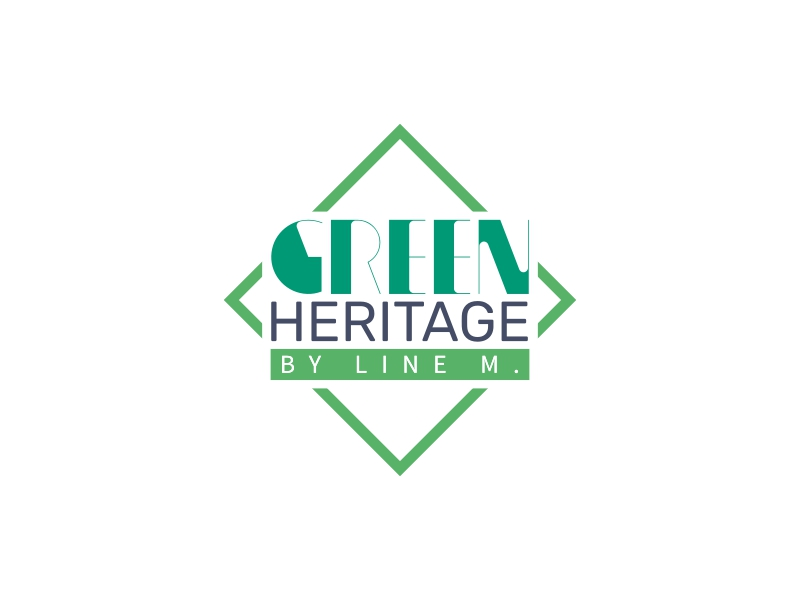 Green Heritage logo design