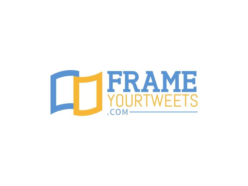 Frame YourTweets logo design
