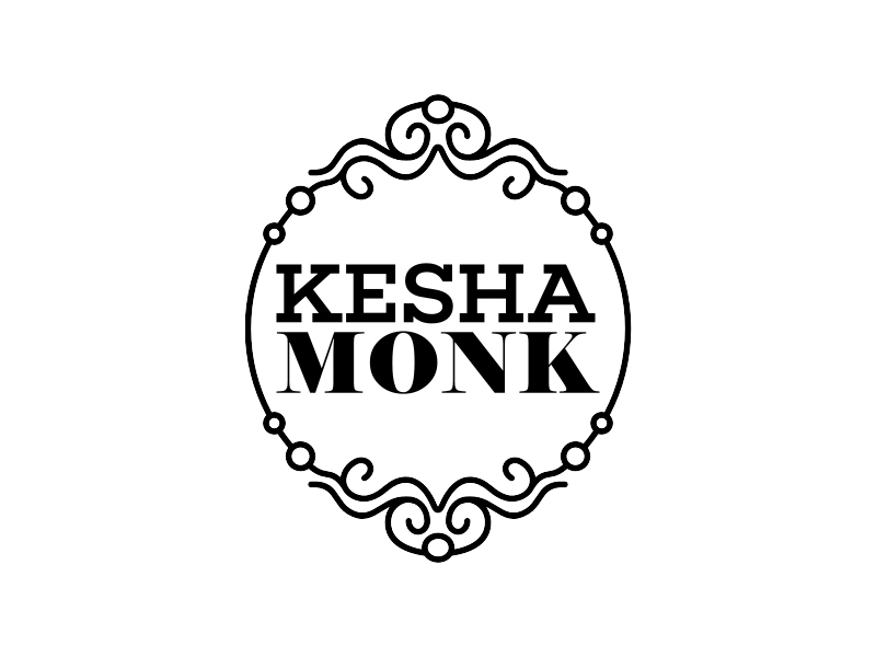 Kesha Monk logo design