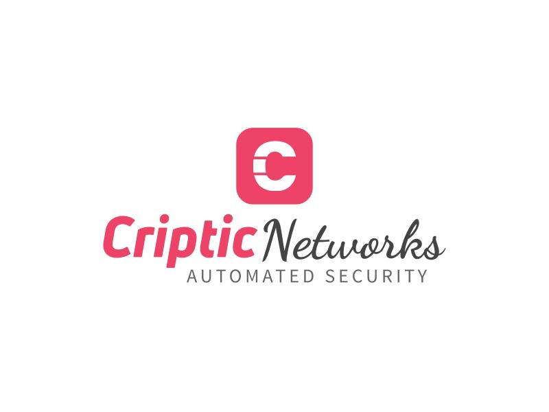 Criptic Networks logo design