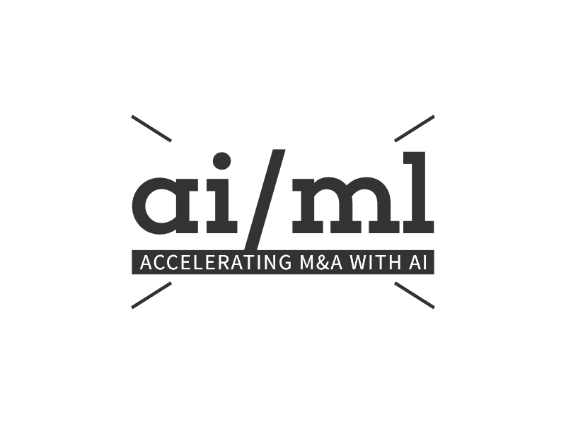 ai/ml - ACCELERATING M&A WITH AI