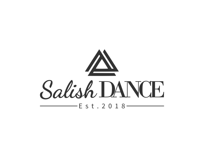 Salish DANCE logo design