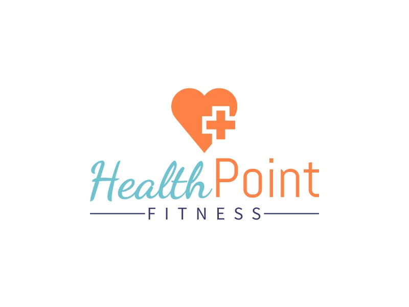 Health Point logo design