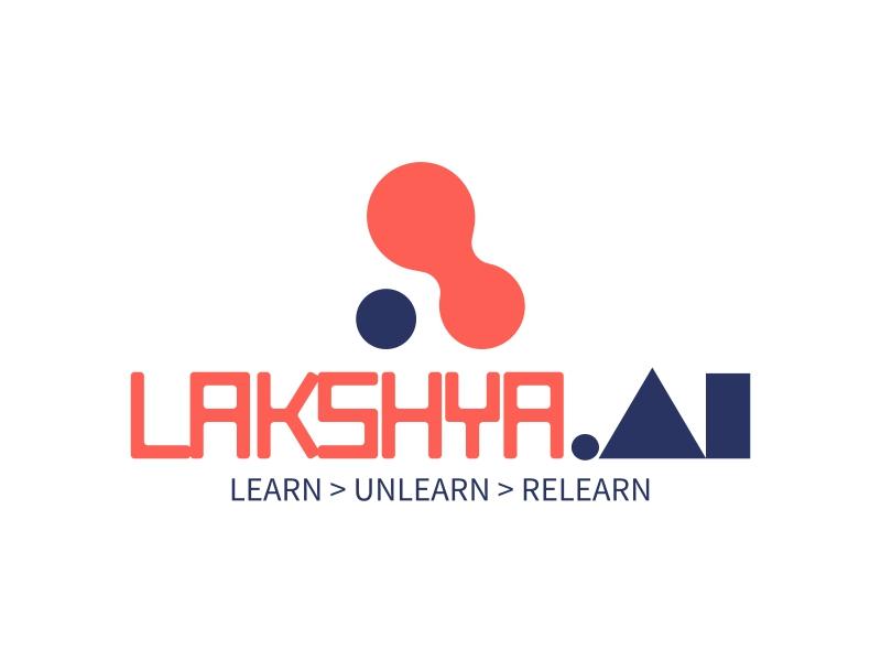 LAKSHYA .AI logo design