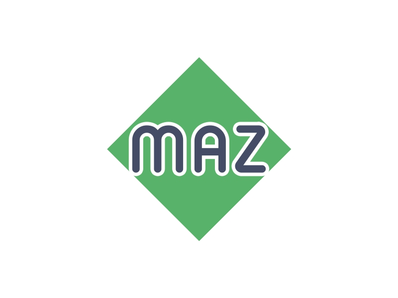 MAZ logo design