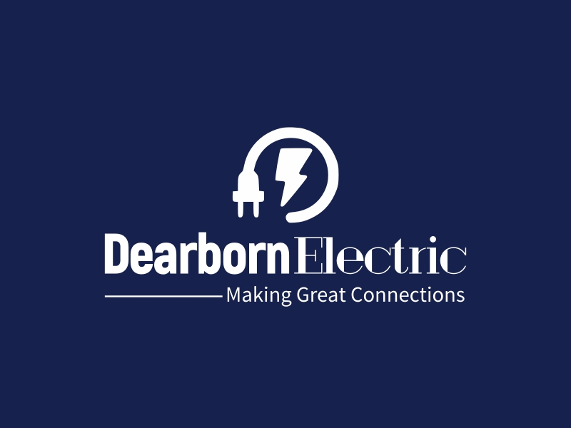 Dearborn Electric logo design