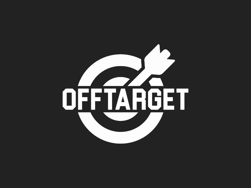 Offtarget logo design