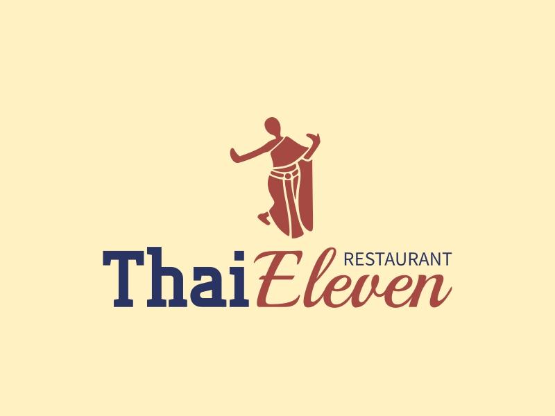 Thai Eleven logo design