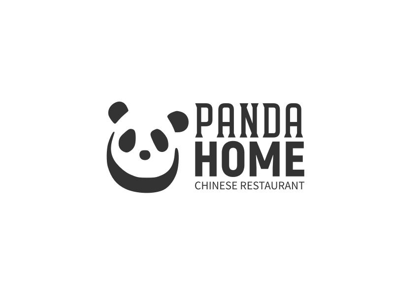 Panda Home logo design