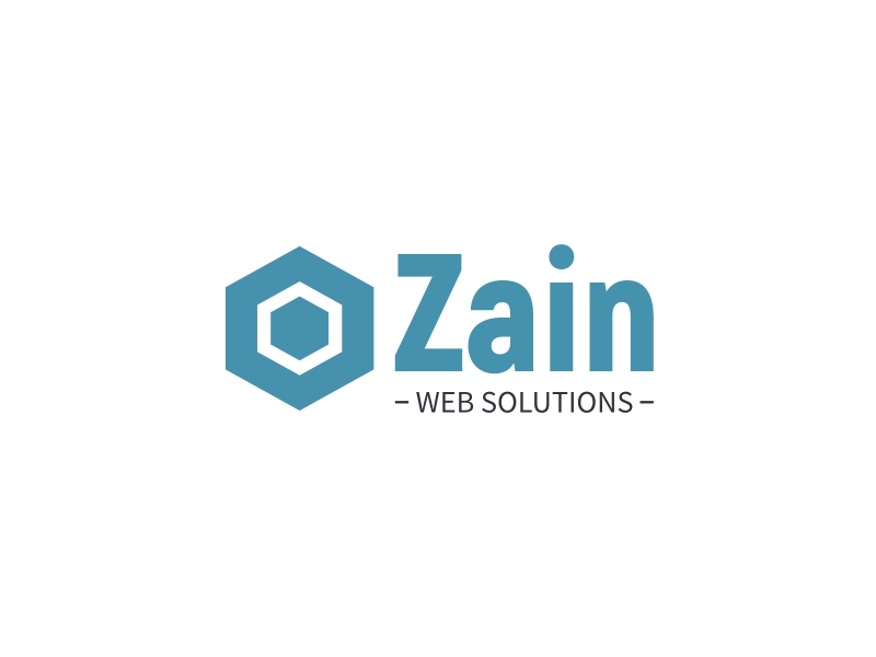 Zain logo design