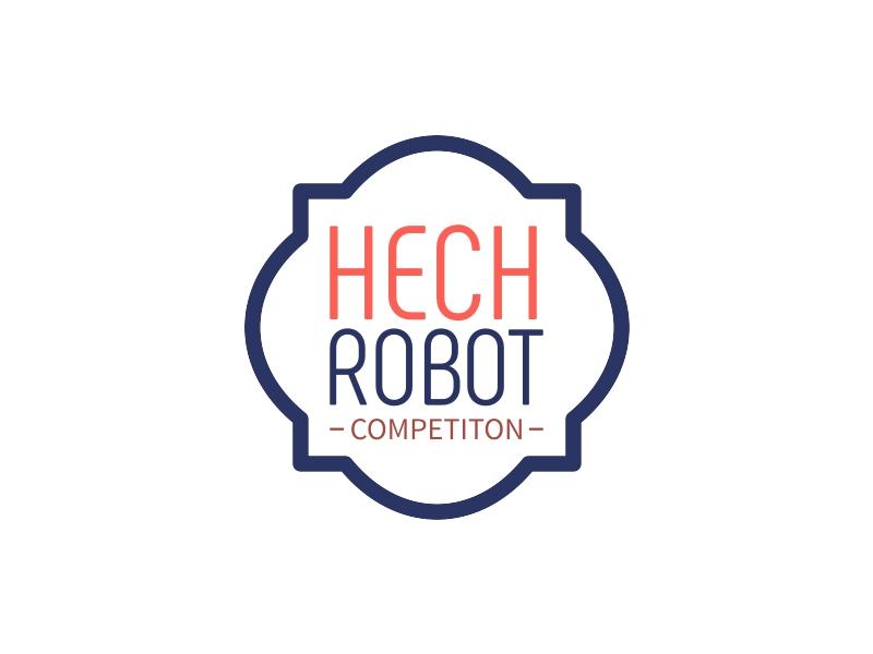 HECH ROBOT logo design