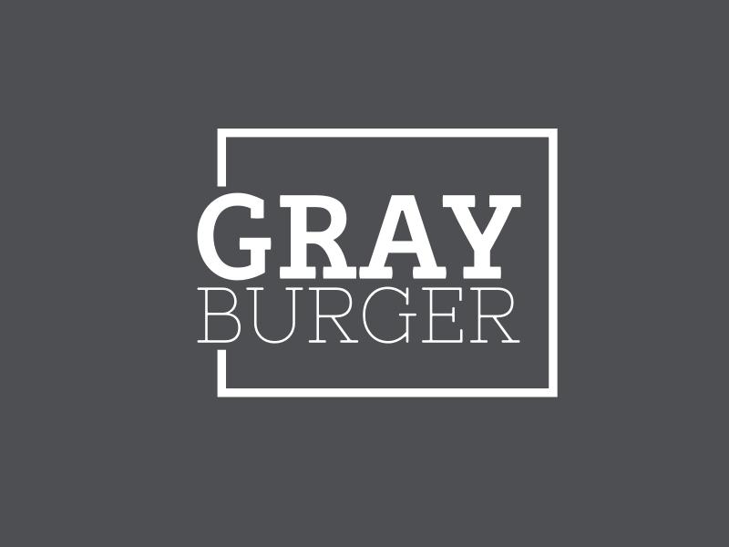Gray Burger logo design