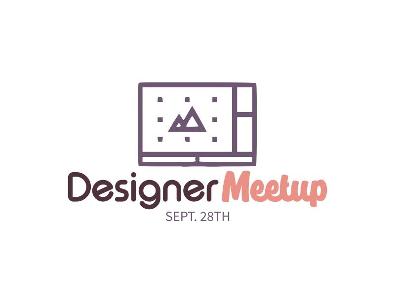 Designer Meetup logo design