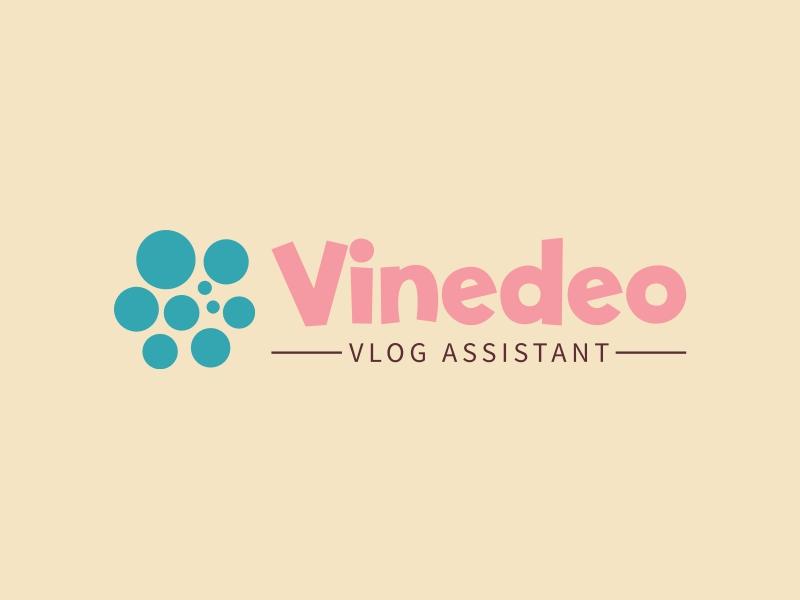 Vinedeo logo design