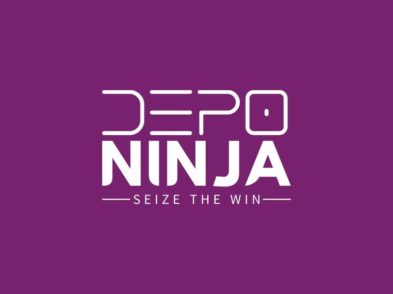 Depo Ninja logo design