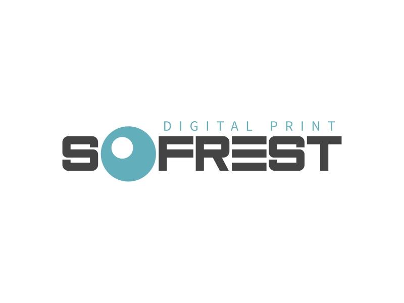 SOFREST logo design
