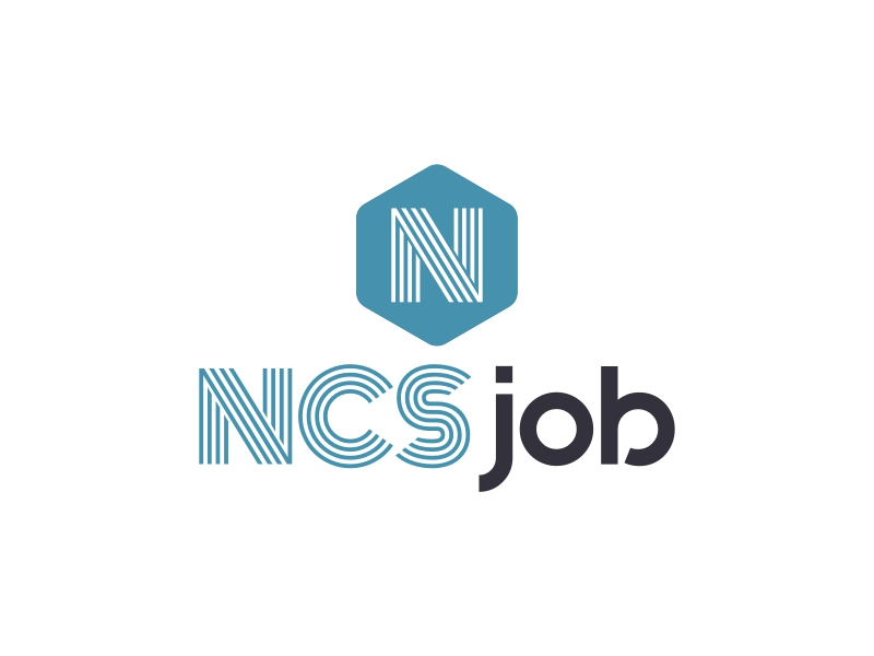 NCS job logo design