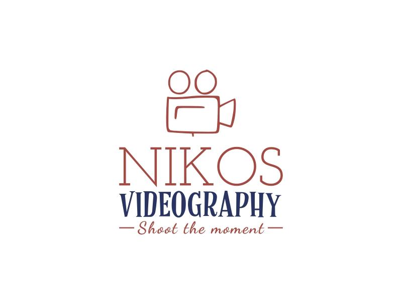 NIKOS VIDEOGRAPHY logo design