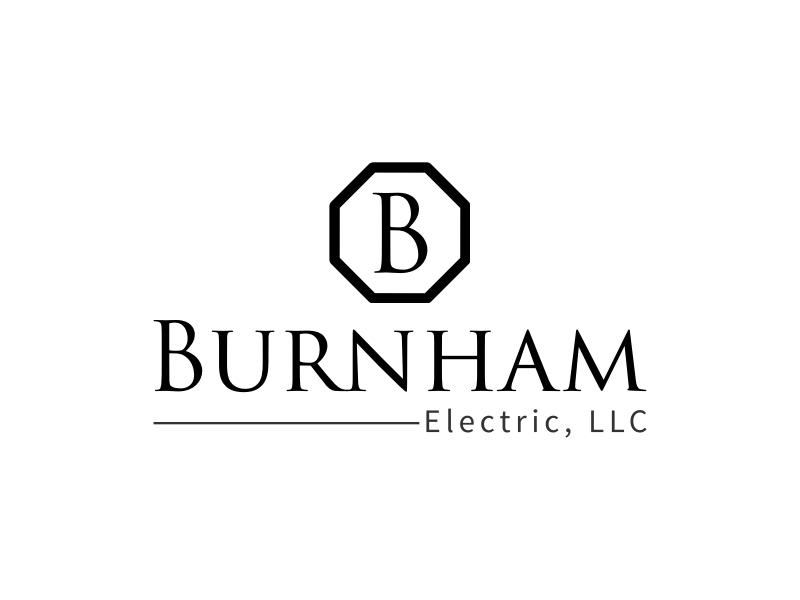 Burnham logo design