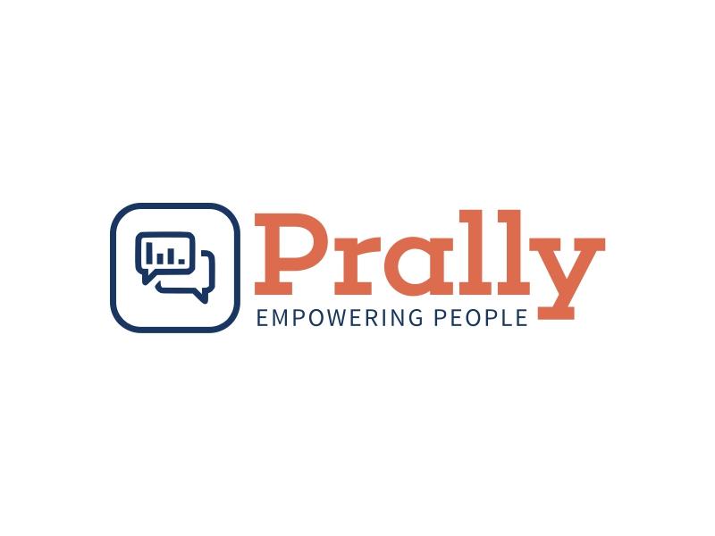 Prally logo design