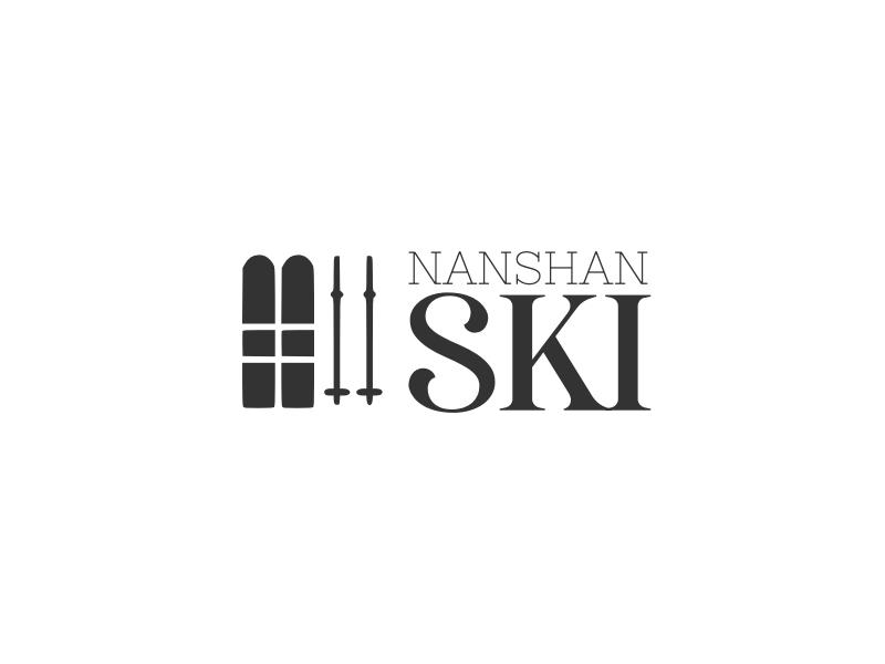 NanShan Ski logo design