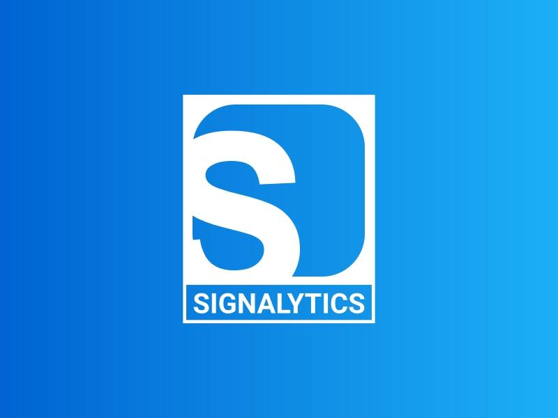 SIGNALYTICS logo design