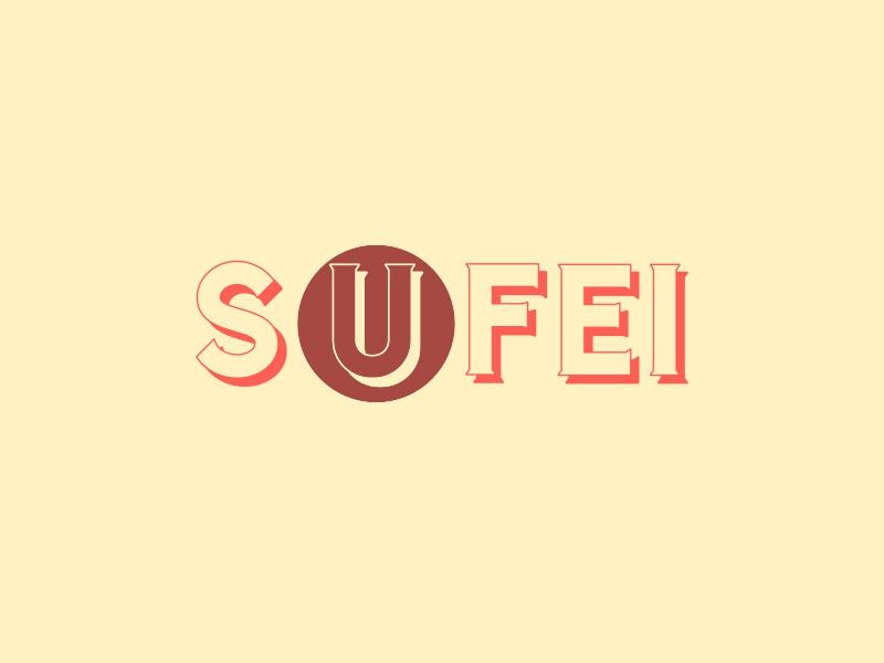 SUFEI logo design