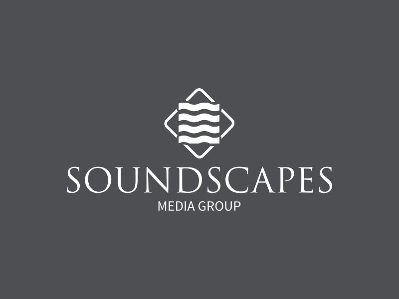 SOUNDSCAPES logo design