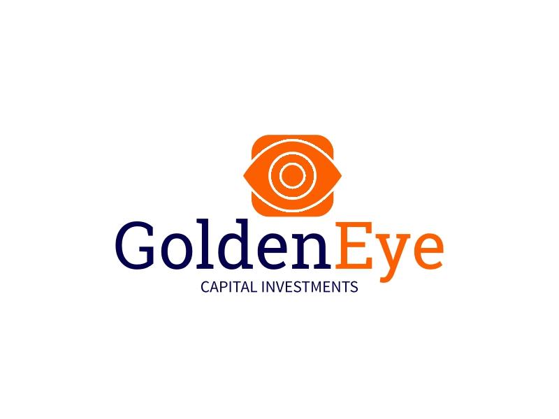 Golden Eye logo design
