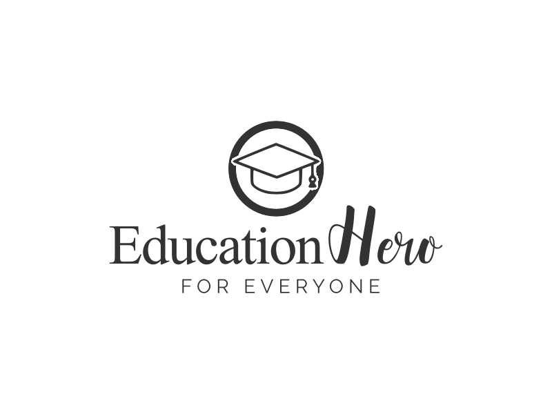 Education Hero logo design