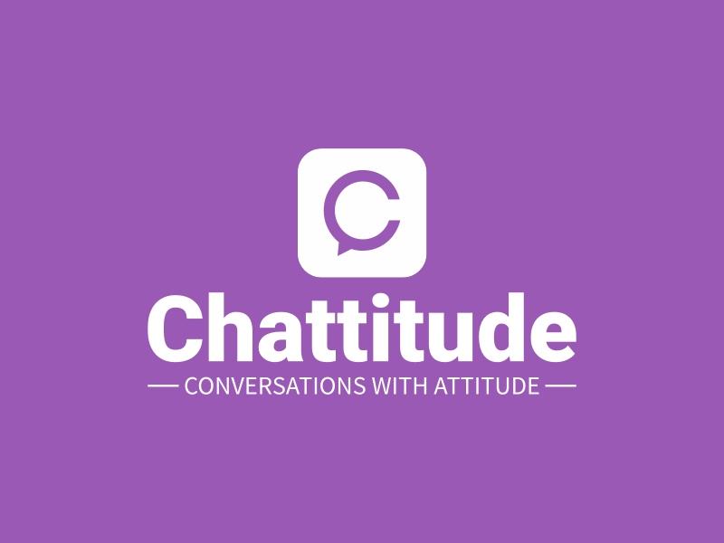 Chattitude logo design