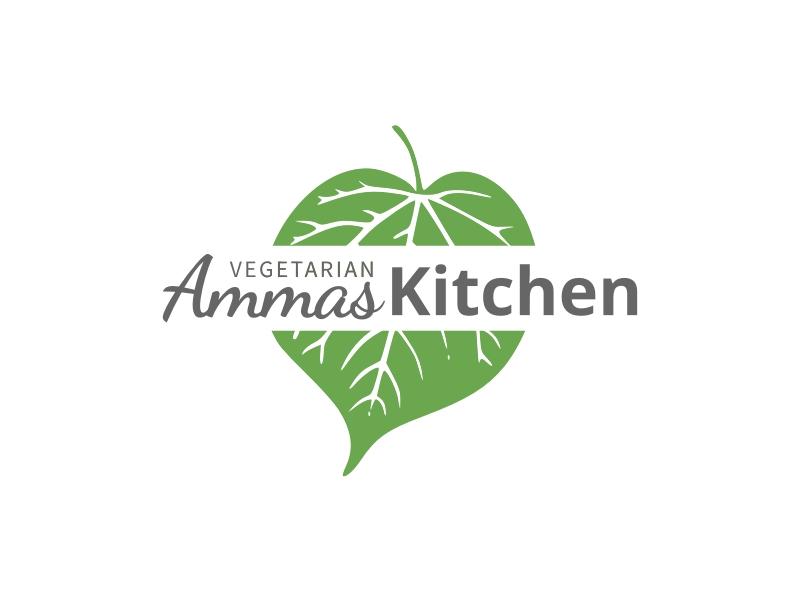 Ammas Kitchen logo design