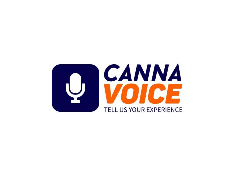 canna voice logo design