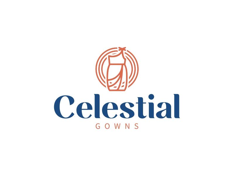 Celestial logo design