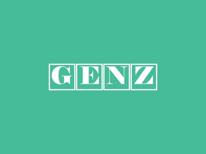 GENZ logo design
