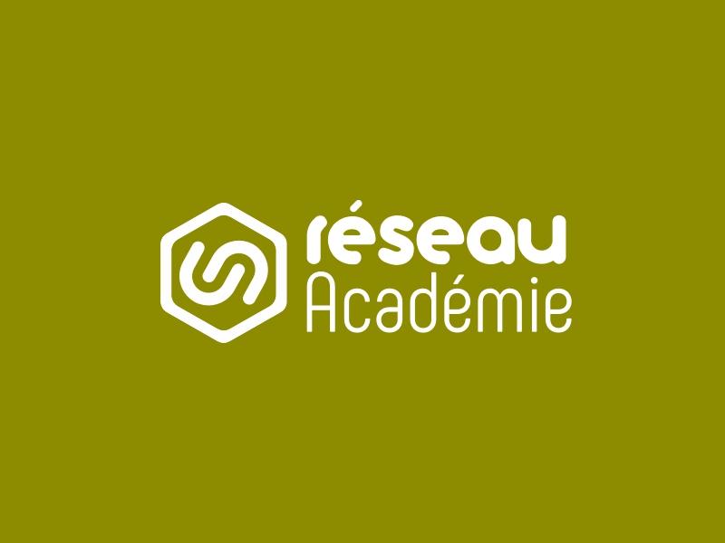 Réseau Académie logo design