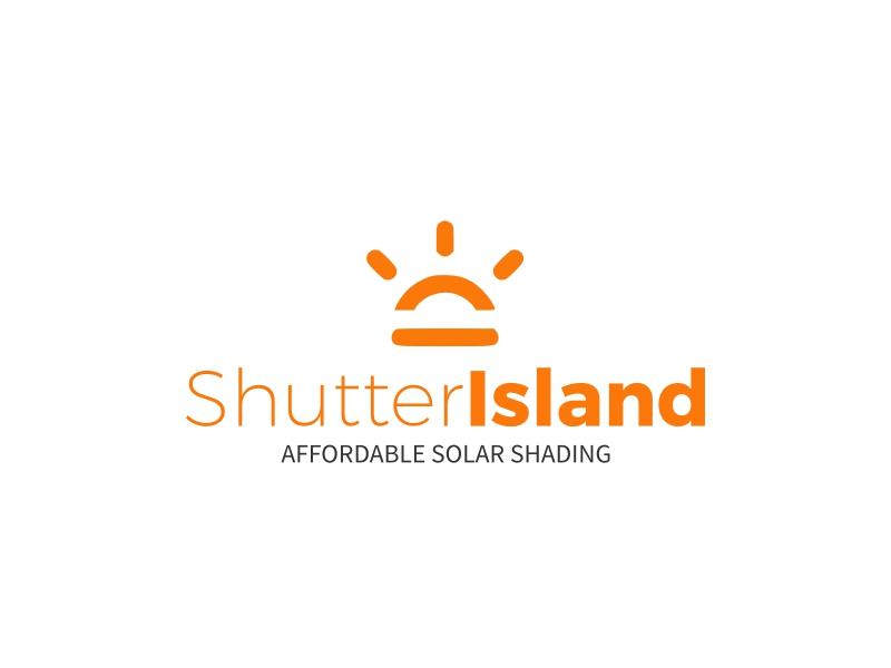 Shutter Island logo design