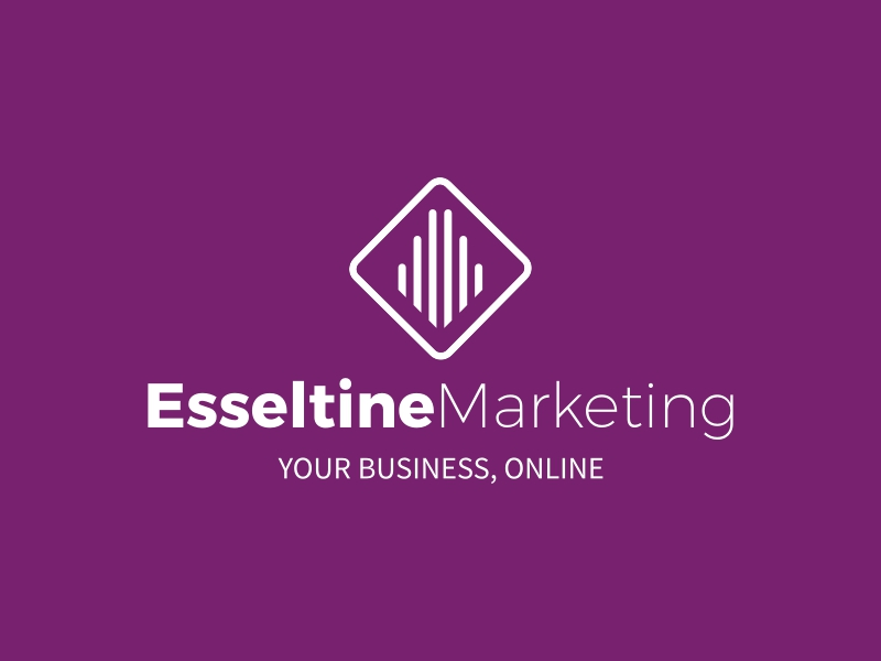 Esseltine Marketing logo design