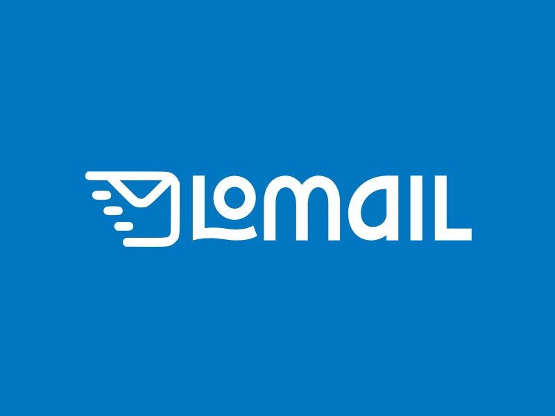 Lomail logo design