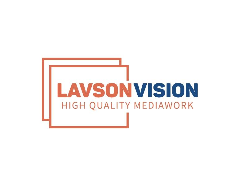 Lavson  Vision logo design