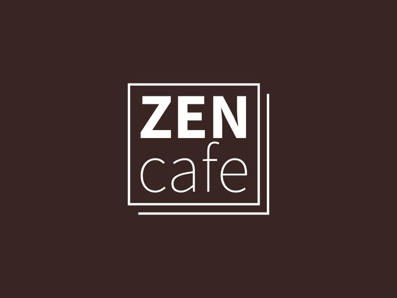 ZEN cafe logo design