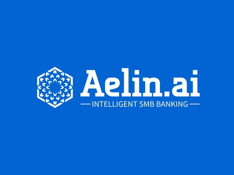 Aelin.ai logo design