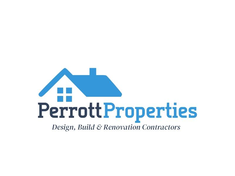 Perrott Properties logo design