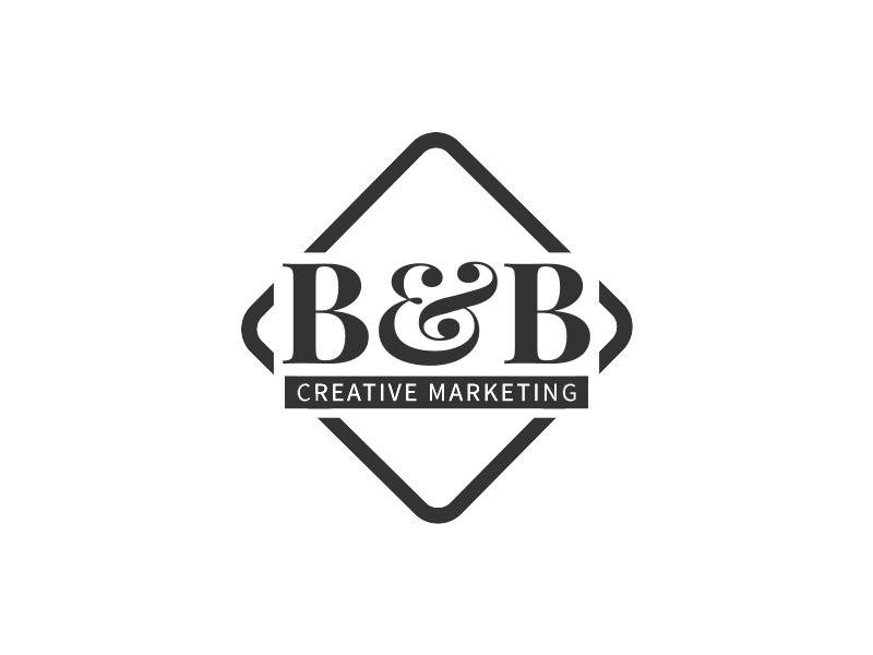 B&B logo design