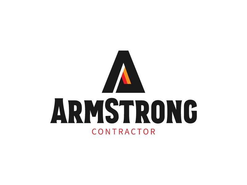ArmStrong logo design