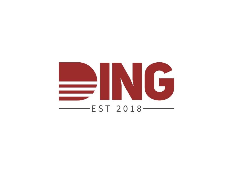 DING logo design